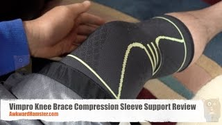 Vimpro Knee Brace Compression Sleeve Support Review