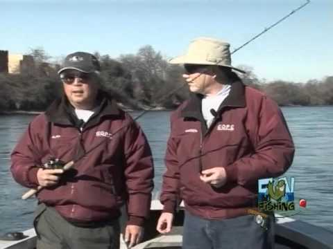 Trout Fishing - Lower Sacramento River      FUN FISHING TV SHOW  #202