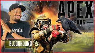 My First Game Of The Stream... And We Went Off! - Apex Legends Bloodhound Gameplay