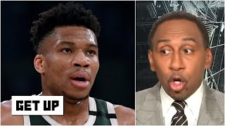 Stephen A. reacts t๐ Giannis' comments about this being the 'toughest championship' | Get Up