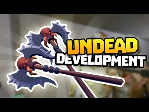 EXOTIC BATTLEAXE TO THE END - Undead Development Gameplay - VR HTC Vive Gameplay