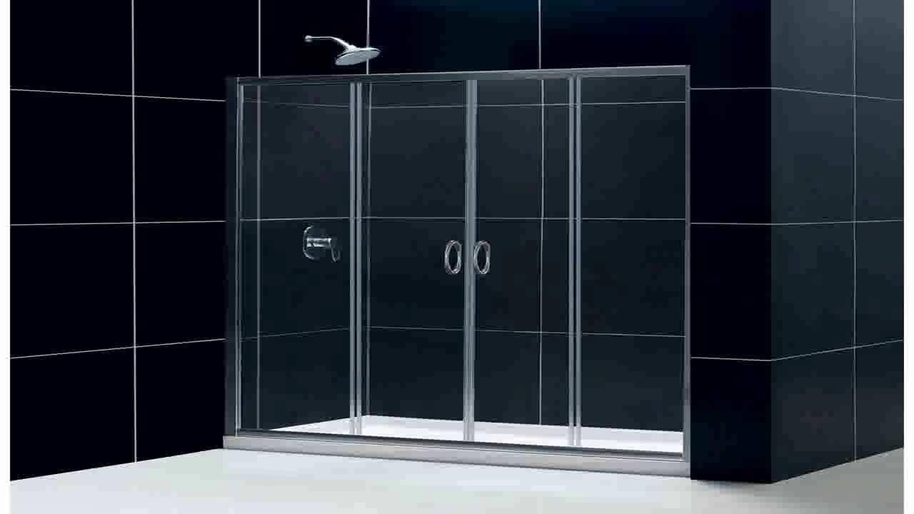 CRL Brite Gold Anodized Frameless Sliding Shower Door Hardware ...
