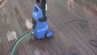 Pacific Hydrostar 1650 PSI Electric Pressure Washer Review Harbor Freight Item # 69488