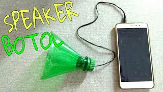 Membuat speaker HP/ laptop dari botol bekas