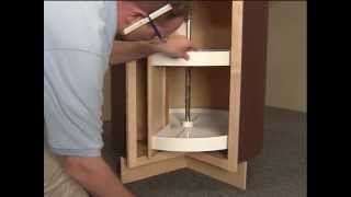Lazy Susan - Aristokraft Cabinet Installation