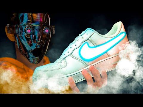 My First CUSTOM Nike AIR FORCE 1 👟🔥
