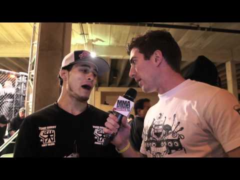 Chris Camacho talks about opponent bailing on his ...