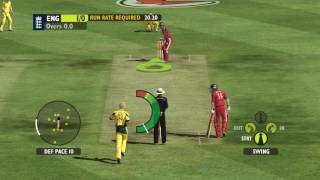 australia vs england Ashes cricket 2009 pc gameplay