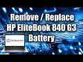 HP EliteBook 840 G3 Notebook PC (ENERGY STAR) youtube review thumbnail