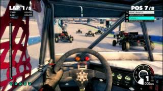 Dirt 3 ATI Mobility 5730 Gameplay  Max Settings