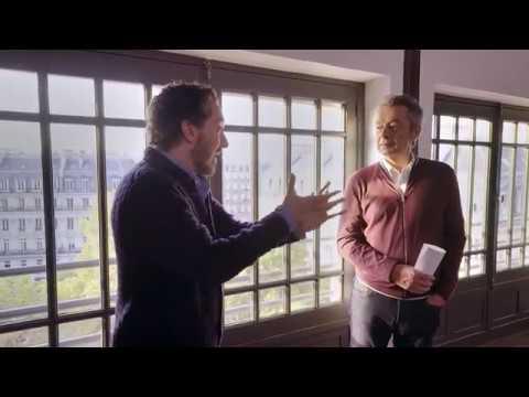 Guillaume Gallienne et Michel Denisot à la Comédie Française |  OFF  |  VANITY FAIR