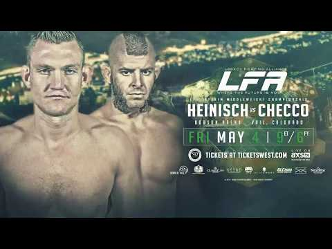 A War Is Coming: Heinisch vs. Checco (LFA 39)