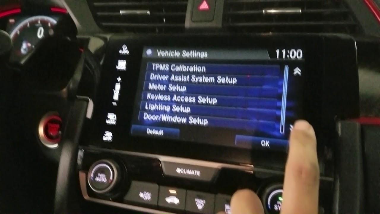 How To Reset 2017 Honda Civic Si Type R Maintenance Light Oil