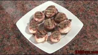 Bacon Wrapped Pork Tenderloin Medallions