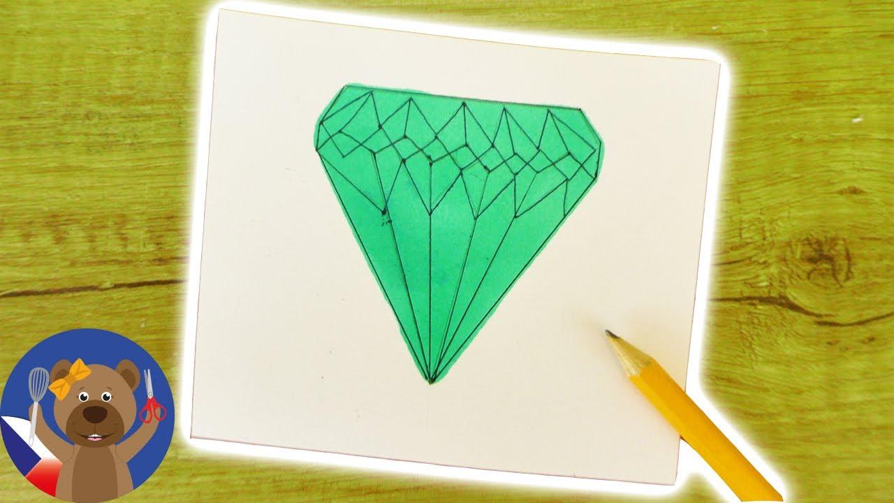 Diy Diamant Kresba Jak Se Maluje Drahokam Kurz Kresleni Pro Deti
