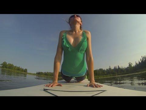 SUP Yoga Paddleboard Fitness