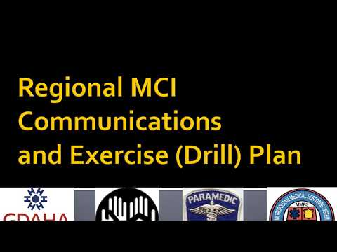 Hospital MCI Communications Exercises Surgenet RHNS OHTrac, v 3 2