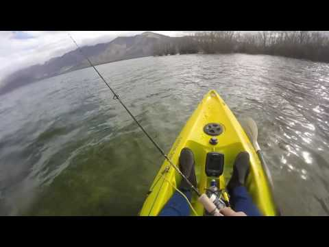 Kayak Fishing Lake Benmore