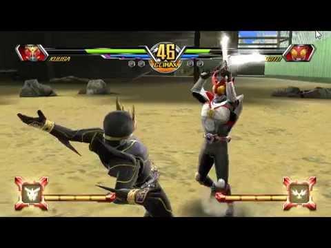 Kamen Rider Super Climax Heroes P.4 คูก้าาาา ถุย!! คูกะท้าไฝว้อากิโตะ