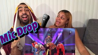 BTS Mic Drop LIVE - SNL Reaction