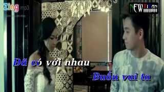 PHÍA SAU EM karaoke lyrics (singer: nam cường ft ngô kiến huy )