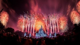 #DisneyParksLIVE: Fantasy In The Sky New Years Eve Fireworks | Disney World