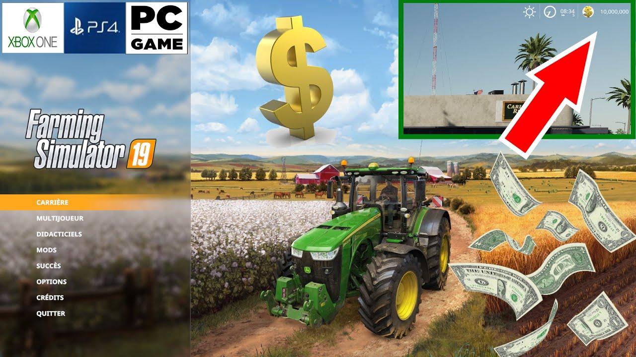 comment gagner de l argent a farming sur xbox