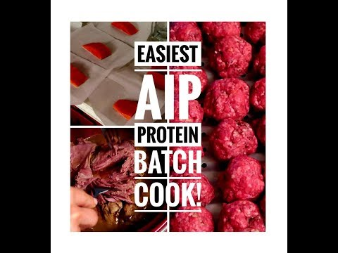 Easiest AIP Protein Batch Cook!