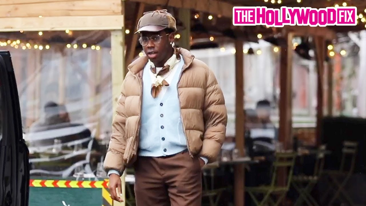 Tyler The Creator Is Too Swagged Out For Lunch With Frank Ocean In New York City 2.23.21