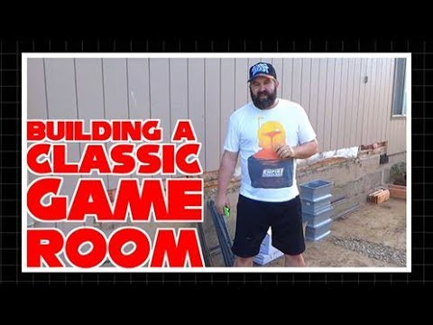 Building a Classic Game Room Part 1