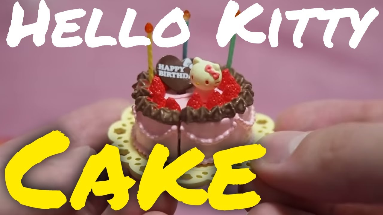 HELLO KITTY Birthday Cake UNBOXING Rement Kids Toy TV YouTube