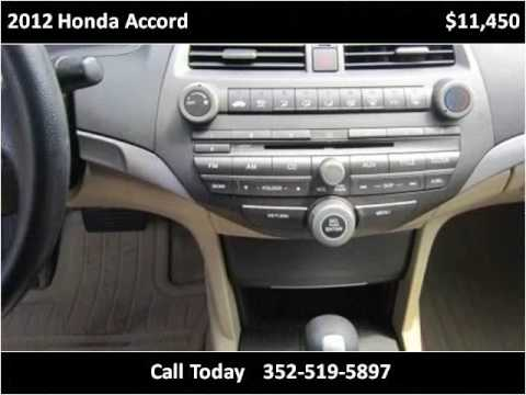 2012 Honda Accord Used Cars Gainesville FL