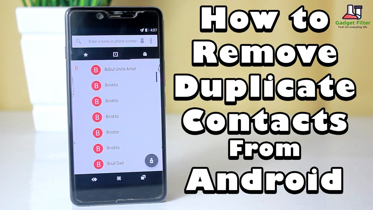 #3 Tutorial: How to Remove or Merge Duplicate Contacts ...