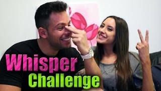 BELEN ETCHART Y MARIANO BERON: WHISPER CHALLENGE!!