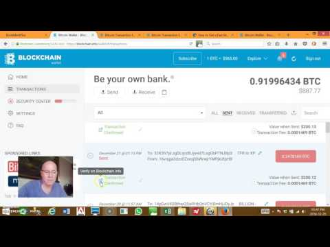 How to find the transaction ID in your Blockchain.info Bitcoin wallet