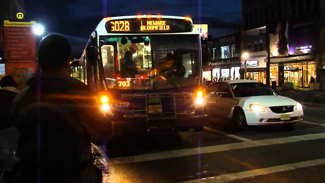 Coach USA & New Jersey Transit: NovaBus RTS-06 & NABI 416.15 @ Broad ...