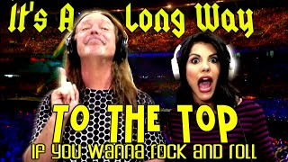 AC/DC - It's A Long Way To The Top If You Wanna Rock n' Roll - ft Sara Loera -  Ken Tamplin