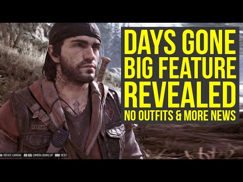 Days Gone Gameplay - Sony Reveals Big New Feature, No Outfits & More News (Days Gone PS4) thumbnail
