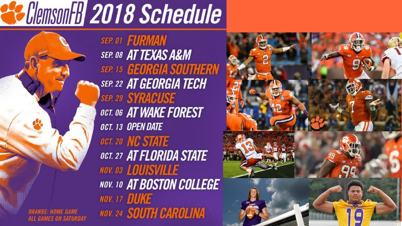 Wallpaper 2018 Football Schedule Tiger Boards Archive Forum Tigernet
