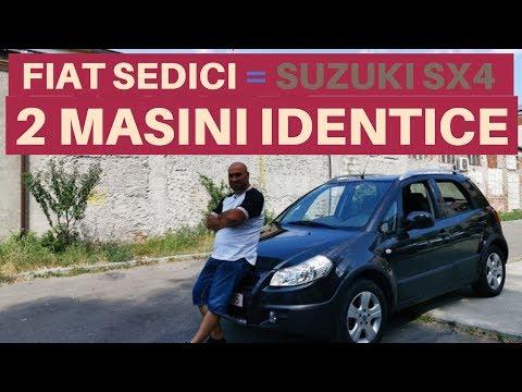 2 MASINI IDENTICE Vandute Cu Embleme DIFERITE. FIAT SEDICI Si SUZUKI SX4