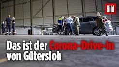 Corona Drive In von Gütersloh: Getestete haben keinen Kontakt zueinander