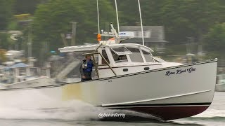 Maine Lobster Boat Races; Friendship