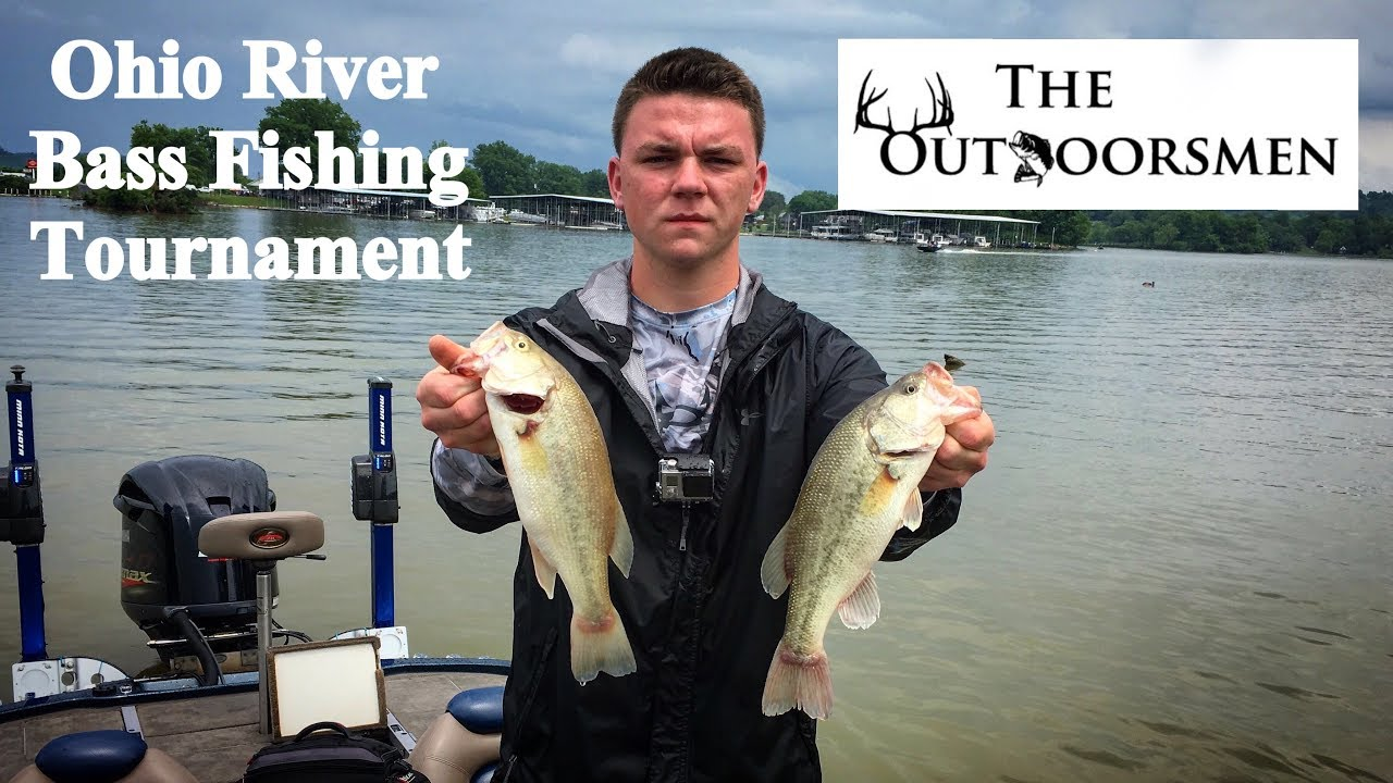 Ohio river bass fishing tournament practice day for Ohio river fishing report