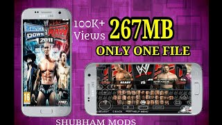 Download WWE SmackDown vs Raw 2011 | Highly Compressed | PPSSPP | ANDROID | 267 MB Only One Part