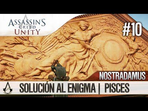 Assassin's Creed Unity   Guía en Español Walkthrough   Enigma Nostradamus   PISCES   Solución