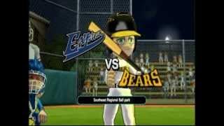 Little League® World Series Baseball 2009 (Nintendo Wii) - Regional Finals - Part 1