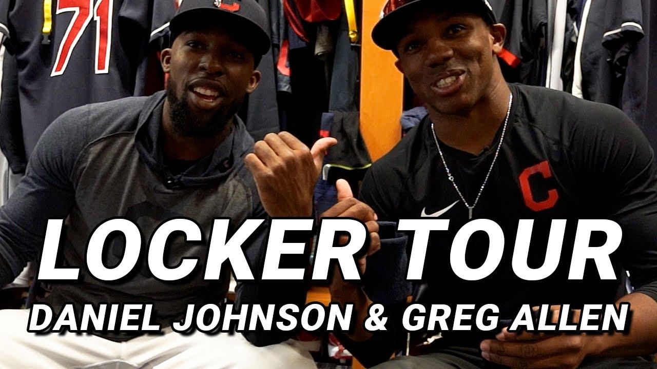 Locker Tour: Daniel Johnson & Greg Allen (FUNNIEST LT EVER)