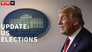 US President Donald Trump spoke from the White House briefing room as election ballots are still being counted. Trump called the mail-in voting corrupt. Meanwhile, Joe Biden said he 'feels good' about where things stood.