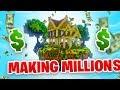MAKING MILLIONS! - Minecraft SKYBLOCK #6