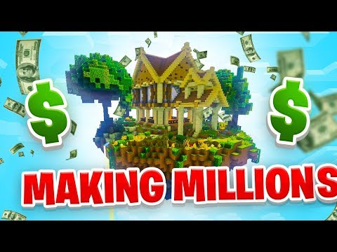 MAKING MILLIONS! - Minecraft SKYBLOCK #6